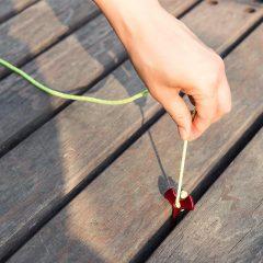 Teltplugg for feste i terrasse