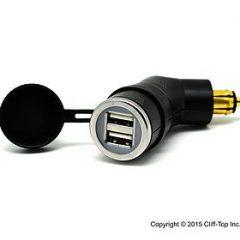 3,3Amp USB-uttak Hella(DIN) BMW