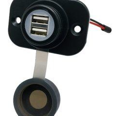 4Amp USB-uttak- innfellbar